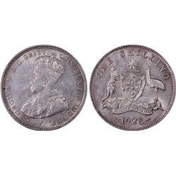 1928 Shilling PCGS AU55
