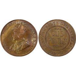 1923 Penny PCGS MS63BN