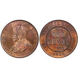 1928 Penny MS 63 BN