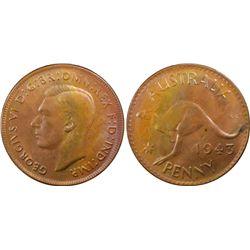 1943(p) Penny PCGS MS63BN