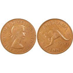 1960(p) Penny PCGS MS64RB