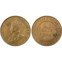 1930 ½ Penny PCGS MS63BN