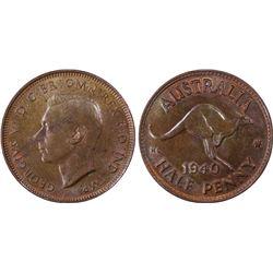 1940 ½ Penny PCGS MS64BN