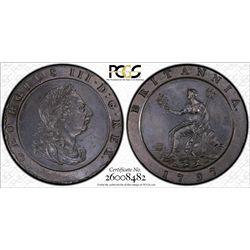 GB 1797 Cartwheel 2 Pence AU53
