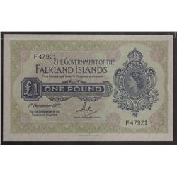 One Pound 1st Dec 1977 UNC