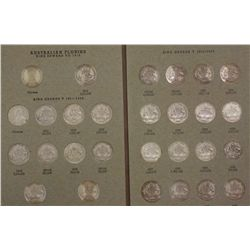 Complete set of Australian florins (no Centenary)