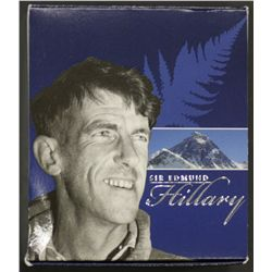 1919-2008 Sir Edmund Hillary 1oz Silver Proof