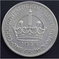 Australia 1938 Crown