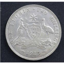 Australia 1915H Florin