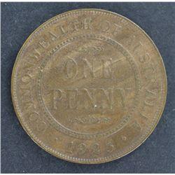 Australia 1925 Penny EF