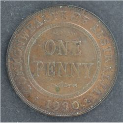 Australia 1930 Penny Forgery