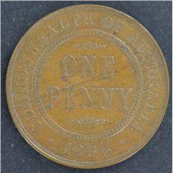 Australia 1935 Penny Nearly UNC