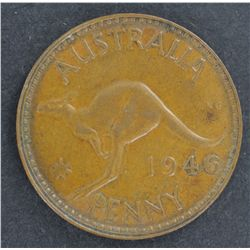 Australia 1946 Penny EF