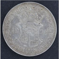 South Africa 1923 Half Crown EF