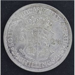 South Africa 1924 Half Crown EF