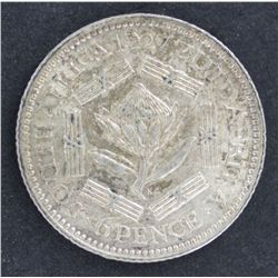 South Africa Sixpence 1927 UNC