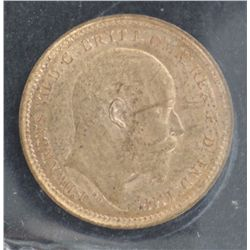 Great Britain 1/3 Farthing 1902