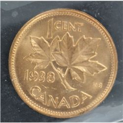 Canada 1c 1938 MS65RD
