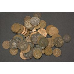 Great Britain Pennies and Half-Pennies