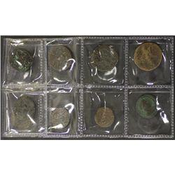Roman Coins including Constantine and Claudius