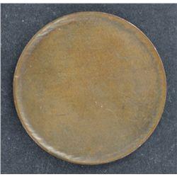 Australian ½ Penny Blank
