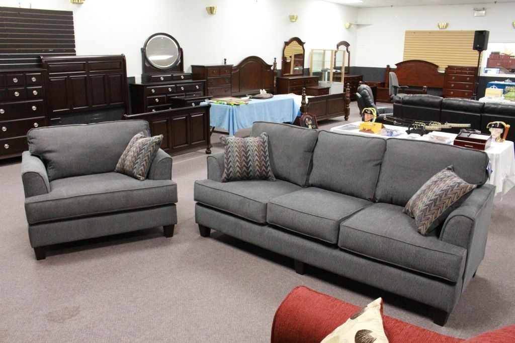 Two Piece Sofa Set Including Sofa Cuddle Chair Chair 1 2