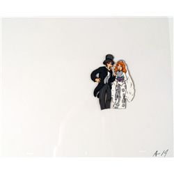 Bride and Groom Lovely Couple Animation Cel Original
