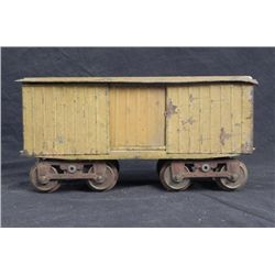 Lionel Large Gauge Model Slat Car w/Wooden Top