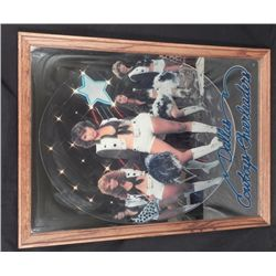 Dallas Cowboys Cheerleaders Mirror Poster Sign Framed