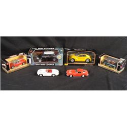 6 1/24 and 1/18 Die Cast Cars Motor Max Revell Masito