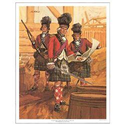 Tom McNeely Print 42nd Royal Highland Regiment of Foot