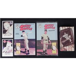 3 Mickey Mantle Items-Videography, Magnum Comic Book