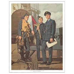 Tom McNeely Art Print Royal Canadian Air Force -WWII