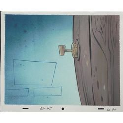 Ren & Stimpy Orig Production Background Maple Tree Tap