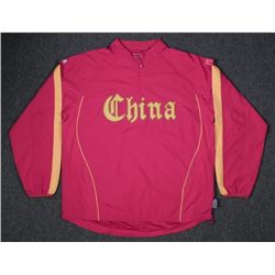 Team China Olympic Sport Jacket Chinese Sz XL