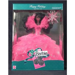 Barbie Happy Holidays Special Edition Black Doll -MIB