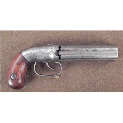 Unique Prototype Pepperbox Revolver Civil War RARE