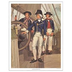 Tom McNeely Art Print The Royal Navy -War of 1812