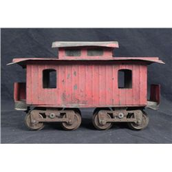 Lionel Large Gauge Model Railroad Caboose w/Wooden Top