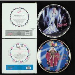 Silver Screen & Circus Star Barbie LTD. Ed. Plate MIB