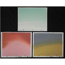 3 Ren & Stimpy Original Painted Production Backgrounds