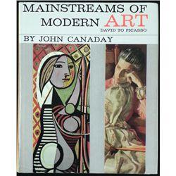 Mainstreams of Modern Art John Canaday 1st Ed 1962