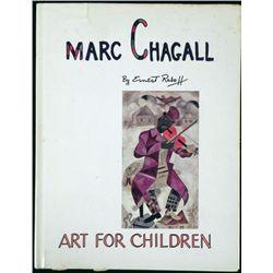 Marc Chagall Art For Children Book -Ernest Raboff 1969