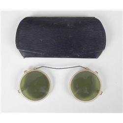 1920'S GERMAN SUN GLASSES IN CASE
