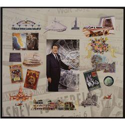 Walt Disney World Background Collage Art Print