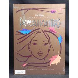 Pocahontas Disney Deluxe Video w/ Art Prints, Book MIB
