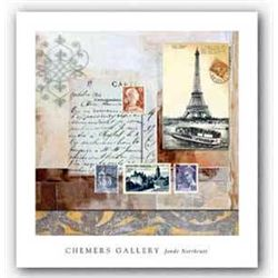 Jonde Northcutt Art Print Paris Reflections Chemers Gal
