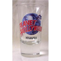 Planet Hollywood Indianapolis Original Shot Glass