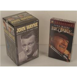 John Wayne American Hero Box Set Big Jake VHS Videos