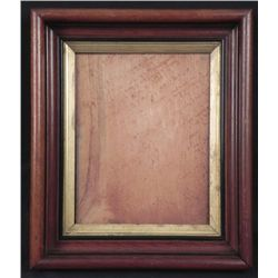 Antique Walnut Carved Victorian ShadowBox Picture Frame